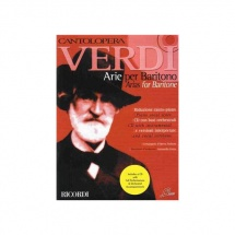 Verdi G. - Cantolopera: Arie Per Baritono + Cd