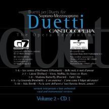 Cantolopera: Arie Per Duetti + Cd Vol.2  - Voix Soprano