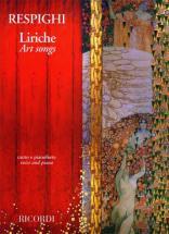 Respighi O. - Liriche - Art Songs - Chant Et Piano