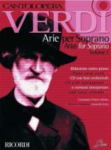 Verdi G. - Cantolopera: Arie Per Soprano + Cd