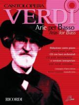 Verdi G. - Cantolopera: Arie Per Basso + Cd