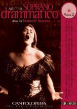 Cantolopera: Arie Per Soprano Drammatico + Cd