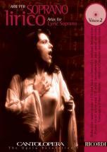 Cantolopera: Arie Per Soprano Lirico + Cd