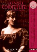 Cantolopera - Arie Per Soprano Coloratura Vol.3 + Cd