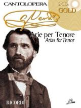 Verdi G. - Cantolopera - Arias For Tenor + 2 Cd - Chant, Piano