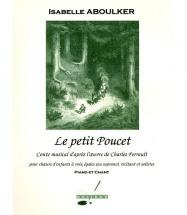 Aboulker I. - Le Petit Poucet - Chant-piano
