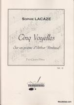 Lacaze S. - Cinq Voyelles Sur Un Poeme D