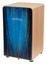 Nativo Percussion Cajon Inicia Blue