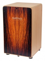 Nativo Percussion Cajon Inicia Brown