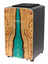 Nativo Percussion Cajon Pro Wave
