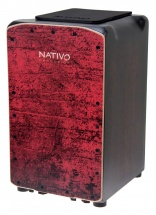 Nativo Percussion Cajon Pro Plus Red