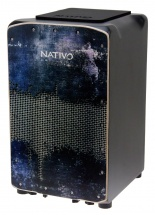 Nativo Percussion Cajon Pro Plus Steel