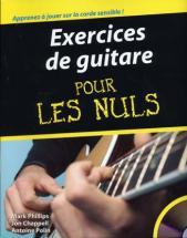 Chappel Jon - Exercices De Guitare Pour Les Nuls + Cd-rom, Solfege Et Tablatures