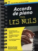 Pour Les Nuls - Accords Piano Format Poche - Piano