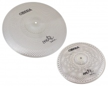 Obera Cymbals Set 2 Cymbales Silencieuces Mute - 14 20