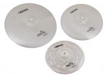 Obera Cymbals Set 3 Cymbales Silencieuces Mute - 14 16 20