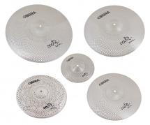 Obera Cymbals Set 5 Cymbales Silencieuces Mute - 14 16 18 20 10
