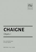 Chaigne Jean-pascal - Objets 1 - Clarinette Basse
