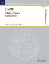 Linde Hans-martin - 3 Jazzy Tunes - Flute Bec Alto and Piano