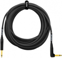 Orange Cable Guitare 10m Noir Coude