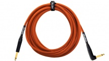 Orange Cable Guitare 6,60m Orange Coude
