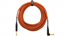 Orange Cable Guitare 10m Orange Coude