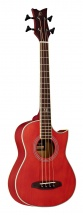 Ortega Bass Deep Traveler D-walker Red + Housse