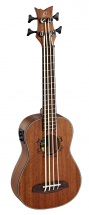 Ortega Bass Lizard Lizzy-bs Natural + Housse