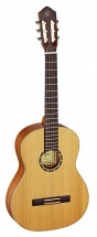 Ortega 4/4 R131 Solid Cedar Slim Neck Natural + Housse