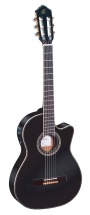 Ortega Rce145 Spruce Slim Neck Black + Housse