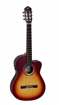 Ortega Rce158 Spruce Slim Neck Honey Sunburst + Housse