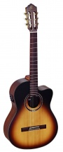 Ortega Rce158 Spruce Slim Neck Tobacco Sunburst + Housse