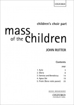 Rutter John - Mass Of The Children - Choeur