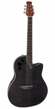 Ovation Applause Elite Ae44iip-tbkf Transparent Black Flame