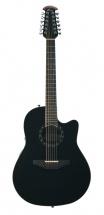 Ovation Standard Balladeer Deep Contour Cutaway 12 Black