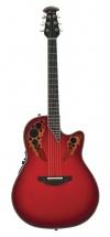 Ovation C2078ax-rtd Custom Elite - Red Tear Drop - En Etui