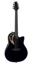 Ovation Elite T Mid Cutaway Black