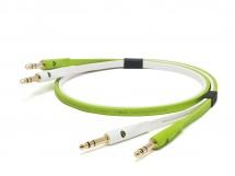 Oyaide Cable 2 Jacks - 2 Jacks 6.35mm Stereo 1m