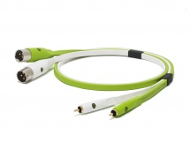 Oyaide Cable Stereo 2 Xlrm - 2 Rca 1m