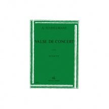 Hasselmans Alphonse - Valse De Concert - Harpe