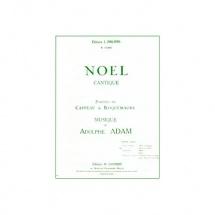 Adam Adolphe - Minuit Chretiens - Noel - Baryton Ou Mezzo Et Piano