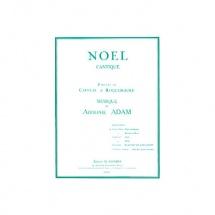 Adam Adolphe - Minuit Chretiens - Noel - Tenor Ou Soprano Et Piano