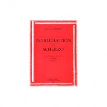 Classens Henri - Introduction Et Scherzo - Saxophone Et Piano