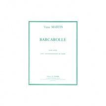 Martin Victor - Barcarolle - Flute Et Piano