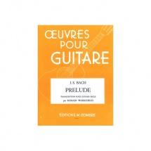 Bach Johann Sebastian - Prelude Ut Min. Pour Le Luth - Guitare
