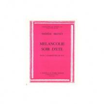 Brenet Therese - Melancolie - Soir D