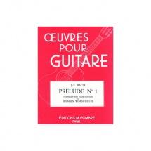 Bach Johann Sebastian - Prelude N.1 Du Clavier Bien Tempere - Guitare