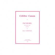 Pachelbel Johann - Celebre Canon - Guitare