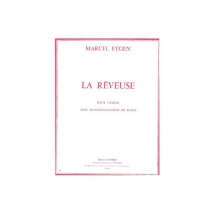 Etgen Marcel - La Reveuse - Violon Et Piano