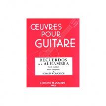 Tarrega Francisco - Recuerdos De La Alhambra - Guitare